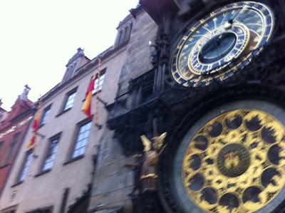 prauge old town clock