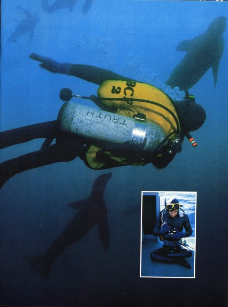 1981_Scuba Diving with Seal